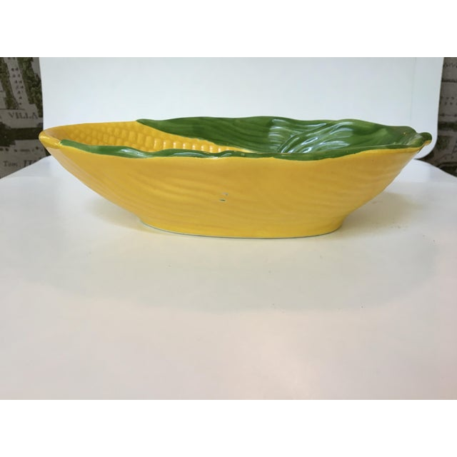 1960s 1960s Vintage Serving Bowls in Shape of Large Ears of Corn- a Pair For Sale - Image 5 of 10