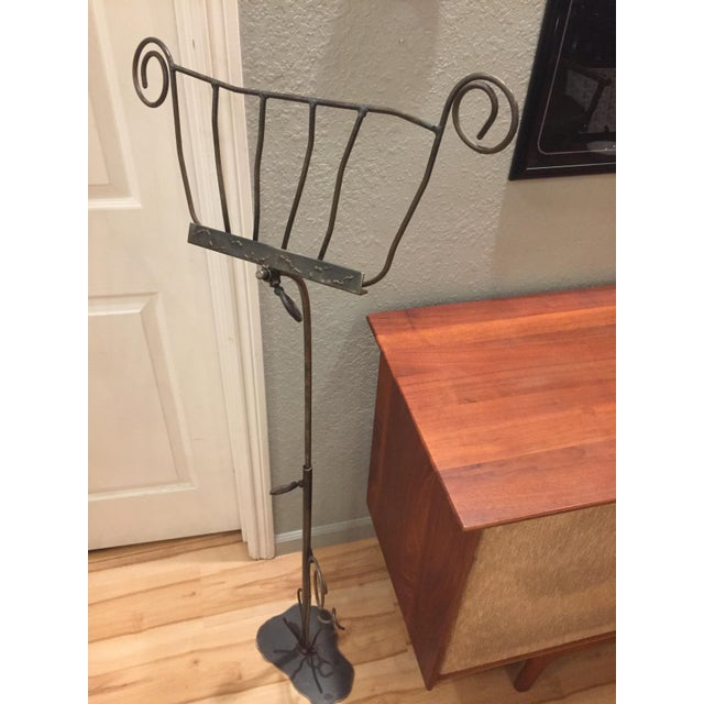 Artisan-Crafted Whimsical Music Stand For Sale - Image 5 of 8