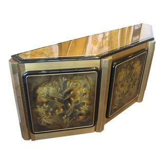 """Bernhard Rohne for Mastercraft """"Tree of Life"""" Credenza For Sale"""