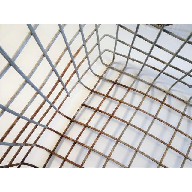 Vintage Wire Locker Baskets - Set of 3 For Sale - Image 11 of 11