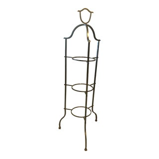Mid-Century Modern Metal 3-Tiered Plant Stand