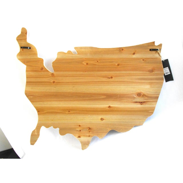 Rustic Wood American Flag Wall Art | Chairish