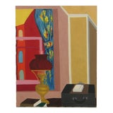 Image of Vintage Robert Herrmann Still Life Oil Painting For Sale