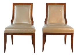 Image of Vinyl Dining Chairs