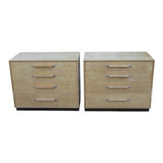 Eliel Saarinen and Pipsan Saarinen Swanson for Johnson Furniture Co. Dressers - a Pair For Sale