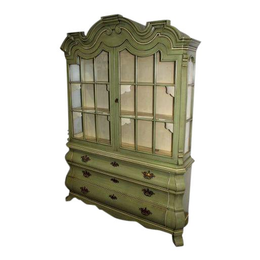 Dorothy Draper Henredon Viennese Collection Display Cabinet For Sale