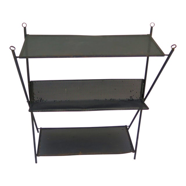 Mategot Style Wall Mount Etagere - Image 1 of 5