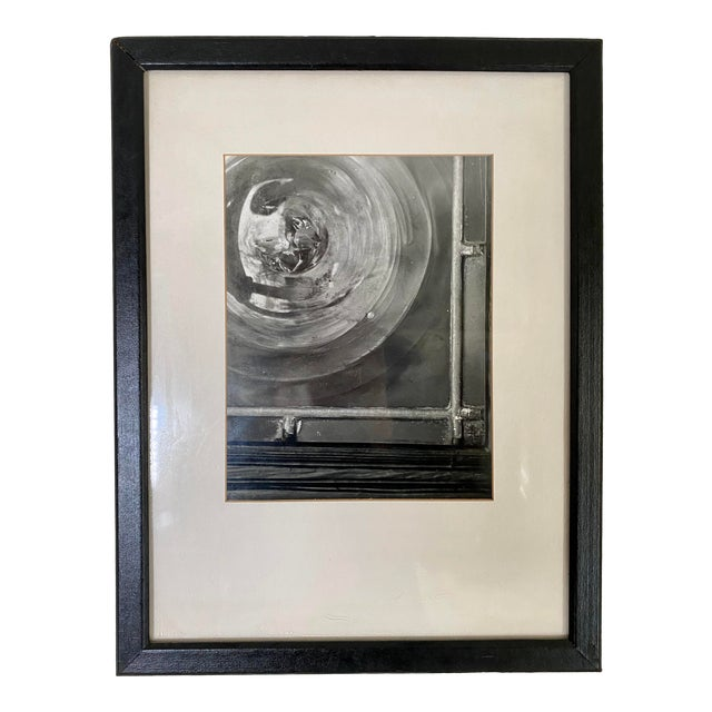 1970s Vintage Industrial Theme Artistic Window Photograph Signed by T. Bakowski For Sale