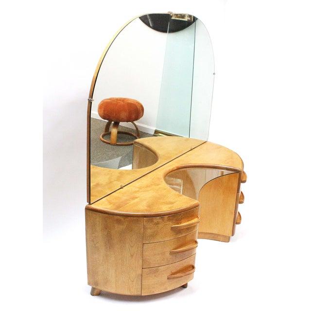 Heywood Wakefield Vanity & Stool - Image 4 of 6