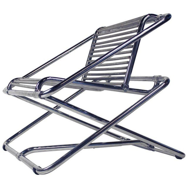 Silver Ron Arad 'One Off' Rocking Chair For Sale - Image 8 of 8
