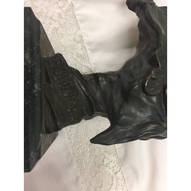 Villanis Bronze La Bohemienne Sculpture For Sale In San Francisco - Image 6 of 8