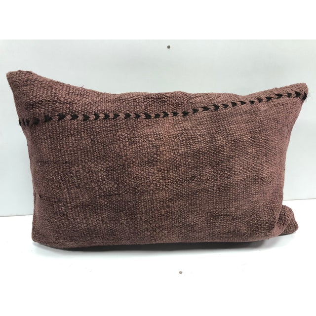 Handmade Kilim Turkish Anatolian Lumbar Pillow, Sofa Pillow Cushion Cover Pillow. Just Pillow Cover No İnsert.
