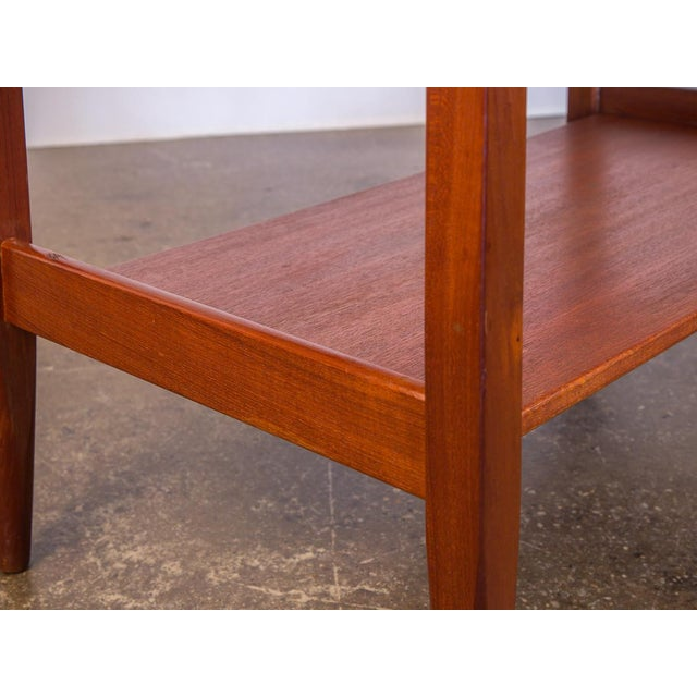 Brown Ib Kofod Larsen Teak Console Table for Faarup For Sale - Image 8 of 11