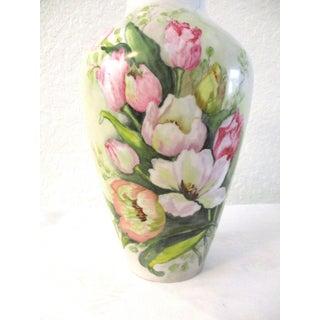1970s German Bavarian Floral Vase Preview