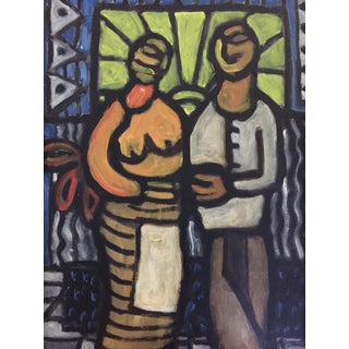 Two Cubist Figures For Sale