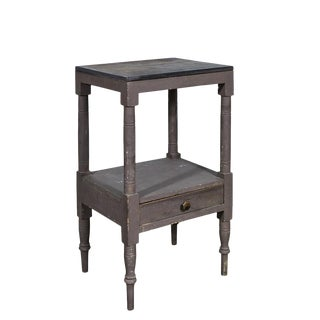 Painted American Washstand/Nightstand For Sale