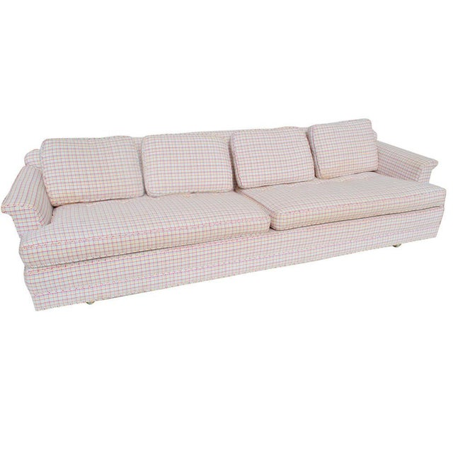 Textile Midcentury 101in Model 488 Sofa by Edward Wormley for Dunbar For Sale - Image 7 of 7