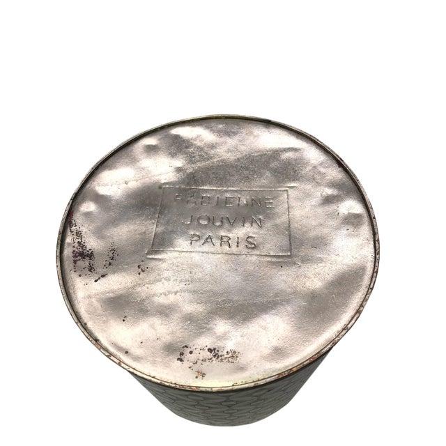 1900 - 1909 Geometric Fabienne Jouvin Tea Jar Canister For Sale - Image 5 of 6