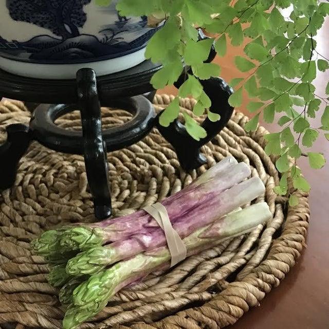 Porcelain Bundle of 8 Asparagus - Image 3 of 3