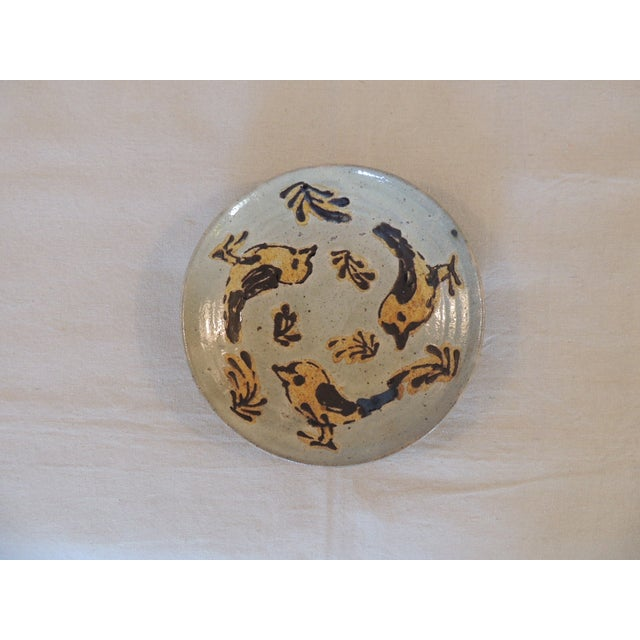 Mid-Century Modern Style Art Pottery Plate - Image 2 of 4