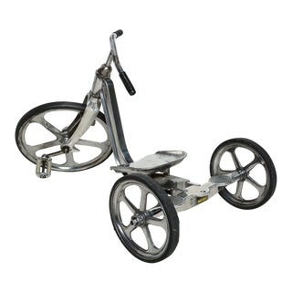 Convert-O Bike Tricycle Anthony Bros Vintage Cast Aluminum California 1950s For Sale