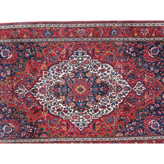 "Islamic Leon Banilivi Persian Bakhtiar Rug - 7' X 10'8"" For Sale - Image 3 of 4"