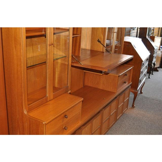 Parker Knoll Vintage 1970s Teak Wall Unit - Image 5 of 6