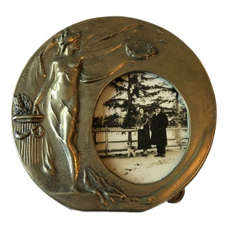 Early 20th Century Art Nouveau Photo or Mirror Frame For Sale
