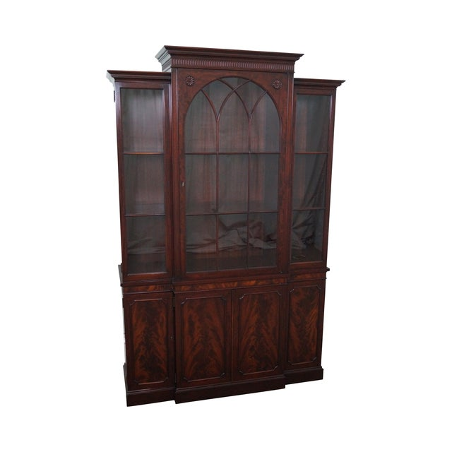 Widdicomb Quality Petite China Cabinet - Image 1 of 10