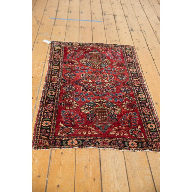 "Old New House Vintage Lilihan Rug - 2'8"" X 4'5"" For Sale - Image 4 of 12"