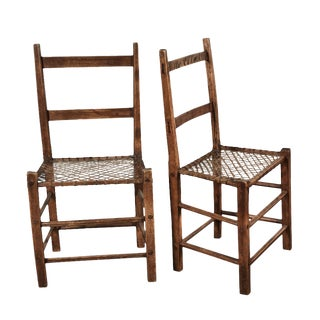 Pair of Camp Chairs For Sale