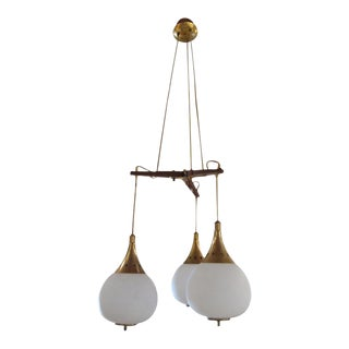 A Ceiling Lamp by Stilnovo, Italy 1950