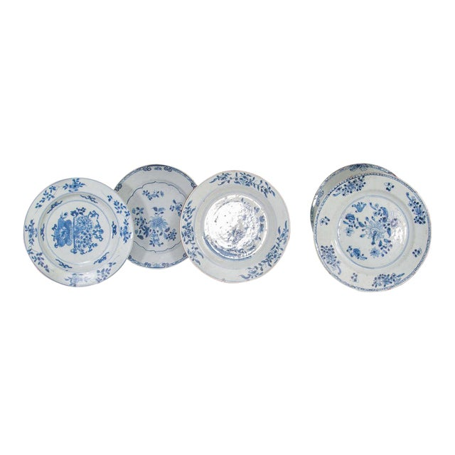 Chinese Export Porcelain Plates For Sale - Image 10 of 10