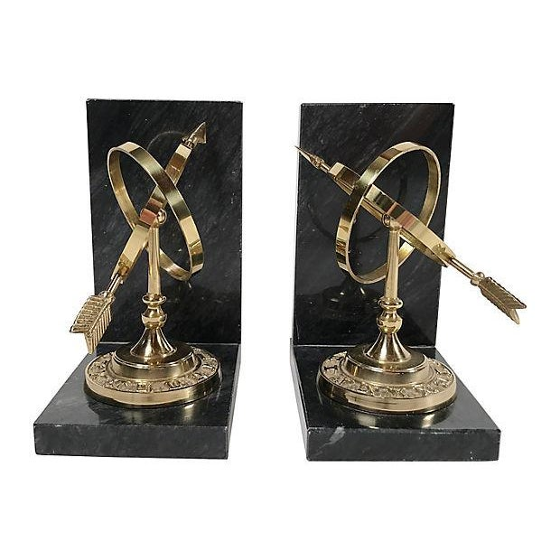 Armillary Sphere Bookends For Sale - Image 4 of 6