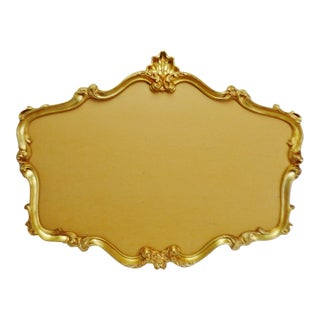 Vintage Rococo Style Gilt Frame For Sale
