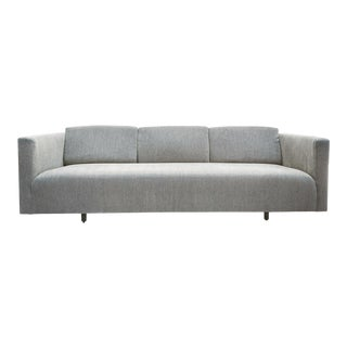 Mid-20th Century Tuxedo Sofa by Harvey Probber For Sale
