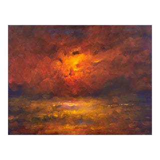 'Sunset Off San Francisco' by Victor Papkov For Sale