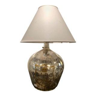 Ralph Lauren Mercury Glass Table Lamp For Sale