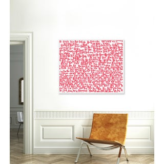 """""""haha Pink Two"""" Print by Kate Roebuck, 45"""" X 34"""" Preview"""