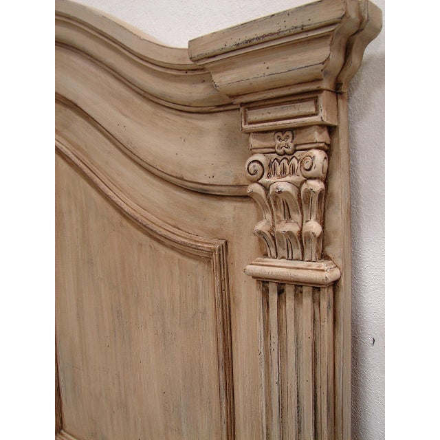 Cabriole Empire Queen Painted Headboard - Image 5 of 5