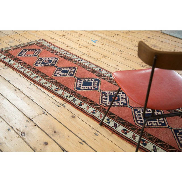 "Red Vintage Sarab Rug Runner - 2'3"" X 9'4"" For Sale - Image 8 of 9"