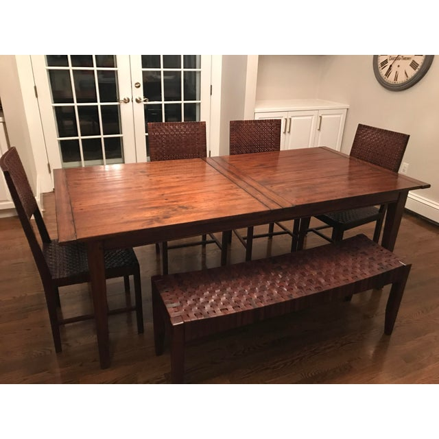 Farm Table Dining Set - Image 2 of 4