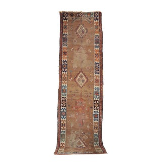 *Sold* Antique Persian Serab Tribal Runner - 3′4″ × 12′ For Sale
