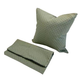 Jim Thompson Pillow Covers - A Pair For Sale