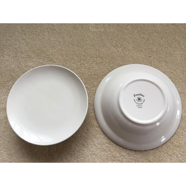 Ceramic Mid-Century Ironstone Casserole Dish For Sale - Image 7 of 8