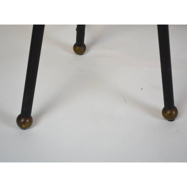 Early 20th Century Mid-Century Modern Iron Tripod Lamp For Sale - Image 5 of 6