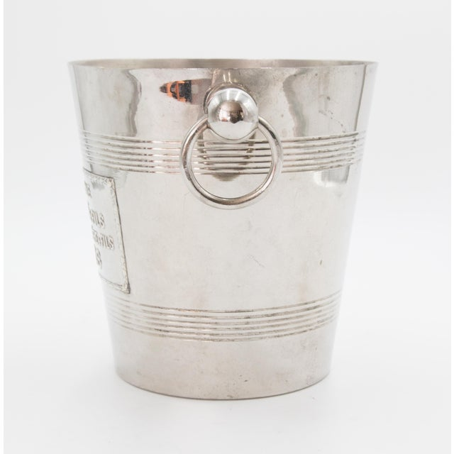 French Mid-Century French Silver Plate Champagne Bucket For Sale - Image 3 of 8