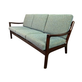 "1960s Vintage Ole Wanscher for Cado Danish Modern ""Senator"" Sofa For Sale"