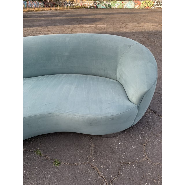 1980s 1980s Vintage Kagan Style Sofa For Sale - Image 5 of 13