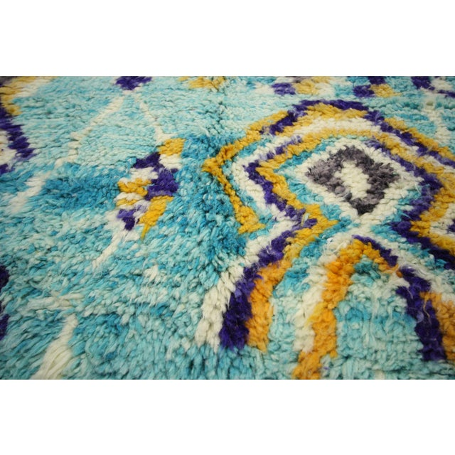 Contemporary Berber Moroccan Rug - 5′ × 8′ For Sale - Image 4 of 7